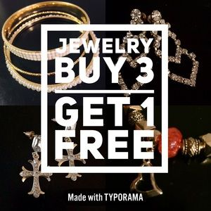 Jewelry - BUY 3 GET 1 FREE on all Little Something Jewelry